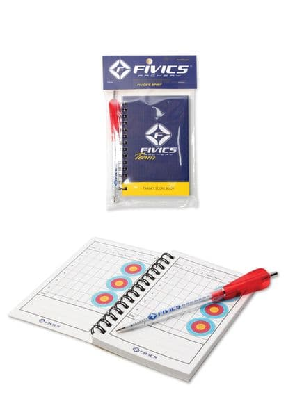 Fivics FITA Score Book and Pen