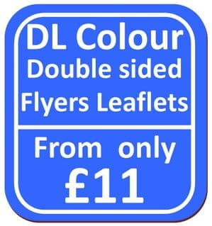 DL Double Sided Flyers