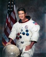 056 NASA Apollo 15 Astronaut James B Irwin Full Colour Portrait
