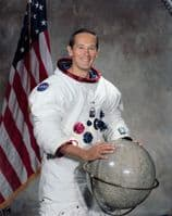 058 NASA Apollo 16 Astronaut Charles M Duke Full Colour Portrait