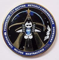131- NASA STS-131 Discovery Space Mission Pin