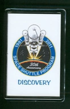 30 Years of the Space Shuttle Program 1981-2011 Discovery Fridge Magnet