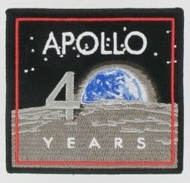 Apollo Missions 40 Years Anniversary Patch