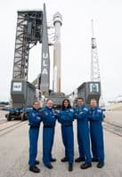Astronauts With Boeing Starliner