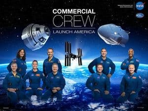 Commercial Crew Launch America Group Photo