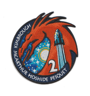 Crew 2 Embroidered Mission Patch