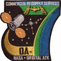 CRS Orbital 7 Resupply Services Patch