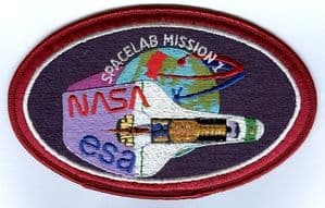 ESA NASA Spacelab 1 Embroidered Patch