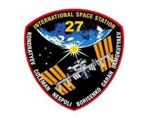 Expedition 27 Mission Decal