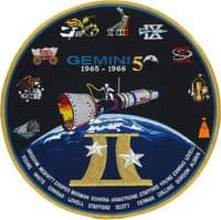 "Gemini 50th Anniversary Commemorative 10"" Patch"