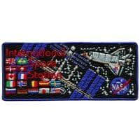 """Int'l Space Station Embroidered Patch 4"""""""