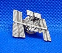 International Space Station Early Stage Lapel Pin