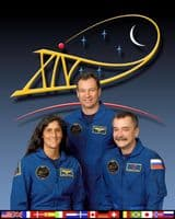 International Space Station Expedition 14 Official Crew Photograph #2