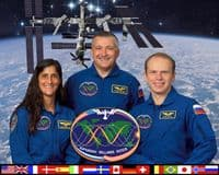 International Space Station Expedition 15 Official Crew Photograph