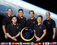 International Space Station Expedition 16 Official Crew Photograph #1