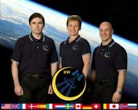 International Space Station Expedition 16 Official Crew Photograph  #3