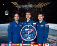 International Space Station Expedition 17 Official Crew Photograph #2