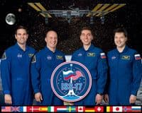 International Space Station Expedition 17 Official Crew Photograph #4
