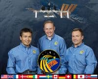 International Space Station Expedition 18 Official Crew Photograph #3