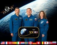 International Space Station Expedition 23 Crew Portrait #3