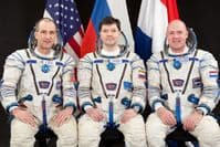 International Space Station Expedition 28 Official Crew Portrait #2
