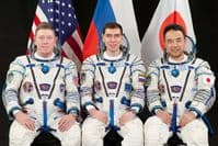 International Space Station Expedition 28 Official Crew Portrait #3