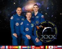 International Space Station Expedition 30 Official Crew Portrait #2