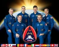 International Space Station Expedition 34 Official Crew Portrait