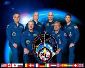 International Space Station Expedition 40 Official Crew Photograph