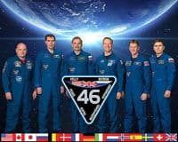 International Space Station Expedition 46 Official Crew Photograph