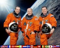 International Space Station Expedition 6 Official Crew Photograph