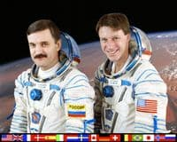 International Space Station Expedition 8 Official Crew Photograph