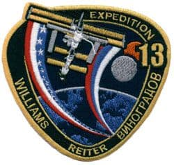 ISS Expedition 13 Mission Patch