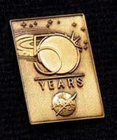 NASA 50 Years Anniversary Pin