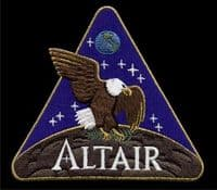 NASA Altair Lunar Lander Embroidered Patch