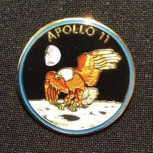 NASA Apollo 11 Mission Lapel Pin