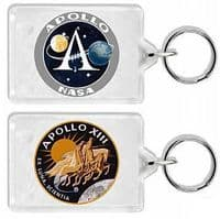 NASA Apollo 13 Mission Insignia Keyring