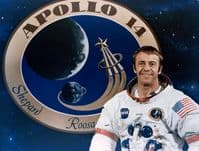 NASA Apollo 14 Astronaut Alan B Shepard Full Colour Portrait