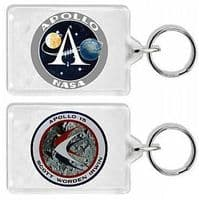 NASA Apollo 15 Mission Insignia Keyring