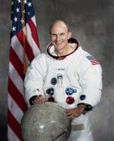 NASA Apollo 16 Astronaut Thomas 'Ken' Mattingly Full Colour Portrait