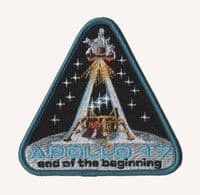 NASA Apollo 17 - The 'End of the Beginning' Patch