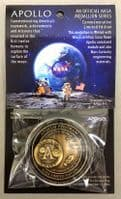 NASA Apollo 50 Years Commemorative Medallion