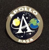 NASA Apollo Program Lapel Pin