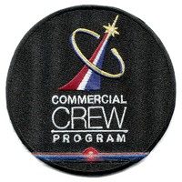 NASA Astronaut Commercial Crew International Space Station Embroidered Patch