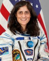 "NASA Astronaut Sunita Williams 10"" x 8"" Colour Portrait"