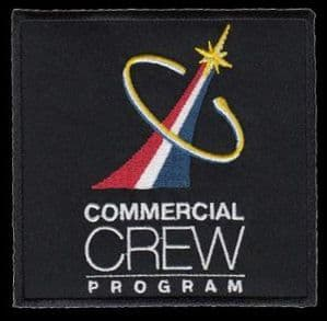 NASA Commercial Crew Program Embroidered Patch 4