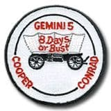NASA Gemini 5 Mission Patch 3""