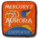 "NASA Mercury 7 Patch 3"" Version"