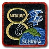 "NASA Mercury 8 Patch 3"" Version"