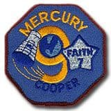 "NASA Mercury 9 Patch 3"" Version"